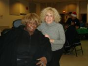 photo of Pamela Bates and Sandy Hecker at party