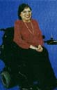 click for description and to enlarge photo of Judy Heumann